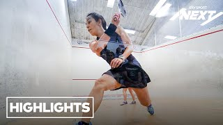 Highlights - Main Court Day 3 Squash NZ Senior Nationals 2020