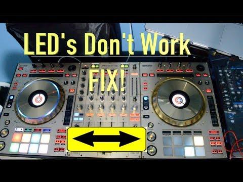 Pioneer DDJ SZ PAD LED FIX | Inside Pioneer DDJ Controller | EASY Fix