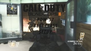 black ops 2 pdw 57 best class setup best attachments and perks