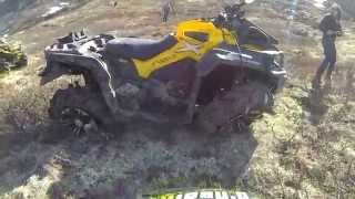 How Many Times Does this Can-Am XMR Roll Down the Mountain?  !! MAJOR !!  FAIL!