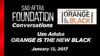 Conservations with Uzo Aduba of ORANGE IS THE NEW BLACK