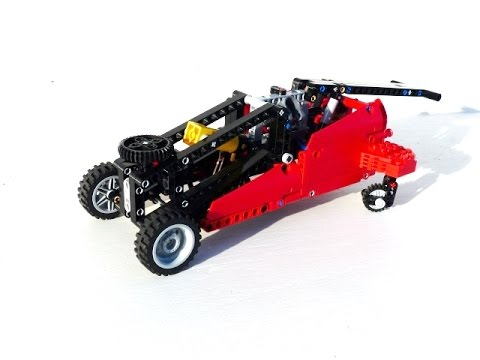 lego technic floor jack youtube. Black Bedroom Furniture Sets. Home Design Ideas