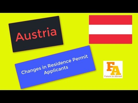 AUSTRIA CHANGES IN PR PROCESS || Immigration into Europe- Austrian Residency