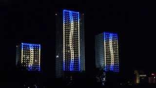 Архитектурная подсветка светодиодными RGB-пикселями(Архитектурная подсветка осуществлена цветными светодиодными пикселями., 2013-06-19T04:00:33.000Z)
