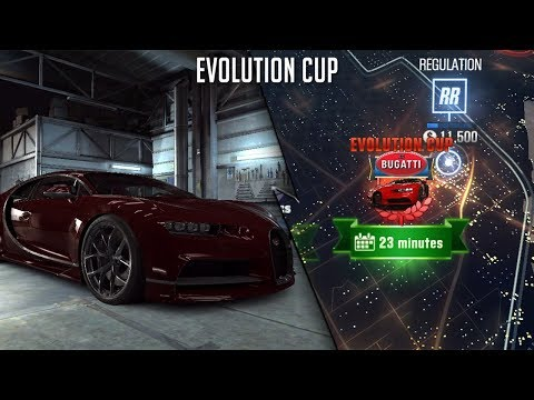 CSR Racing 2 | Legendary & Evolution Cup Chiron (Final time 8.073s)!!
