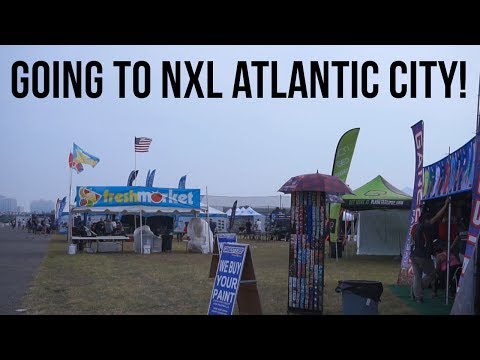Going to NXL Atlantic City! (Travel Vlog)