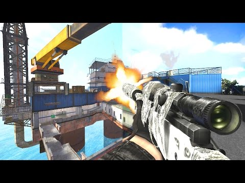 Combat Arms Oil Rig Map Remade in CS:GO!