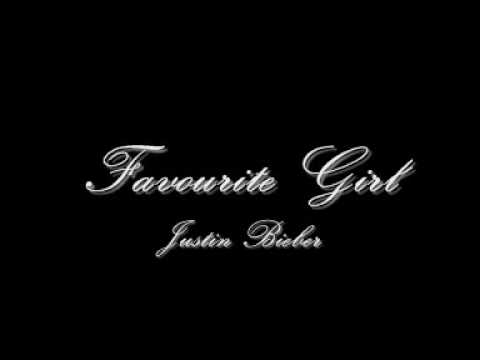 Justin Bieber - Favourite Girl *NEW 2009 RNB*  w/ download and lyrics !