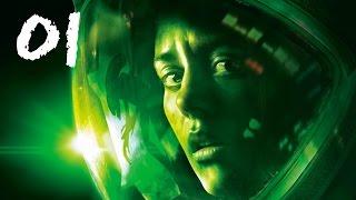 Alien Isolation Walkthrough Gameplay Part 1 - The Torrens (PS3)