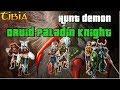 #21 Celesta - Knight 201 + Pally 96 + Druid 81 + Demon + Music Box Quest