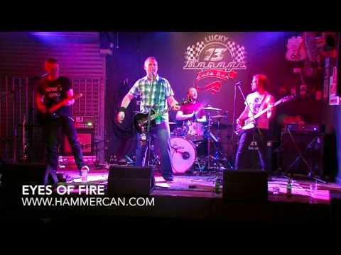 HAMMERCAN New Music Lucky 13 Garage #1 Eyes of Fire Melbourne Australia