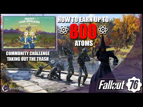 How To Earn Up To 800 Atoms With Project Clean Appalachia: Taking Out The Trash | Fallout 76 Atoms