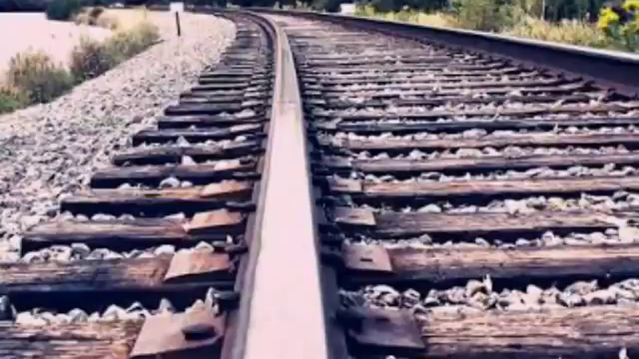 Types of rails used in railway track