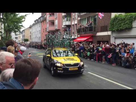 Tour de France 2017 - 2. Etappe - Grand Depart Düsseldorf / Duesseldorf Luegallee