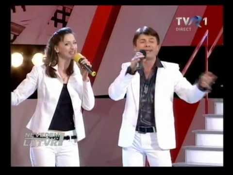 Славич  и Юлия  на первом канале TVR-1