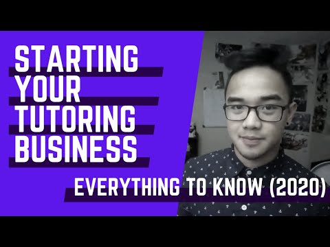 Starting your Tutoring Business: EVERYTHING you need to know