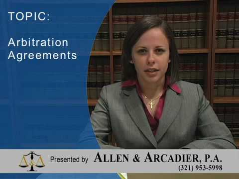 Employment Law: Arbitration Agreements