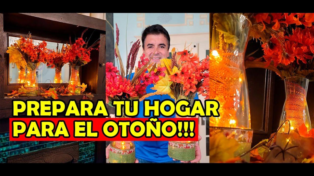 Cómo hacer DECORACIONES DE MESA para otoño!!!🍃🍂