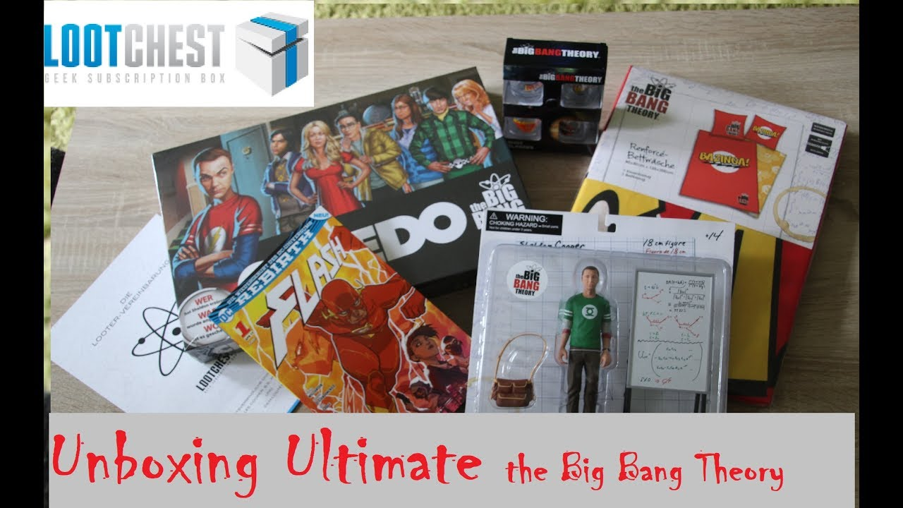 Big Bang Theory Bettwäsche Lootchest Ultimate Unboxing The Big Bang Theory