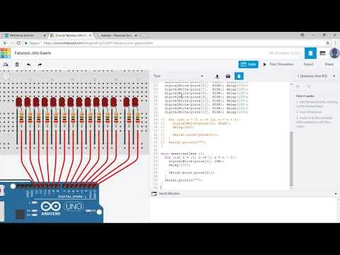 5.6.5 - Array - Coleção De Variáveis (Curso Arduino Aula 39)