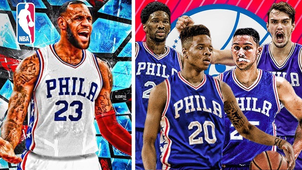 4cb35bd5a773 What if Lebron James joins The Philadelphia 76ers next NBA Season ...
