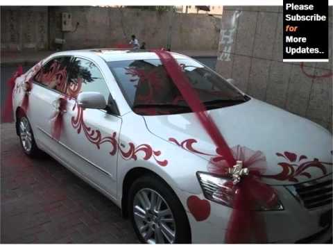 Elegant Wedding Car Decoration
