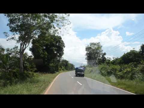 Road to Pangkal Pinang, Bangka Island - Indonesia