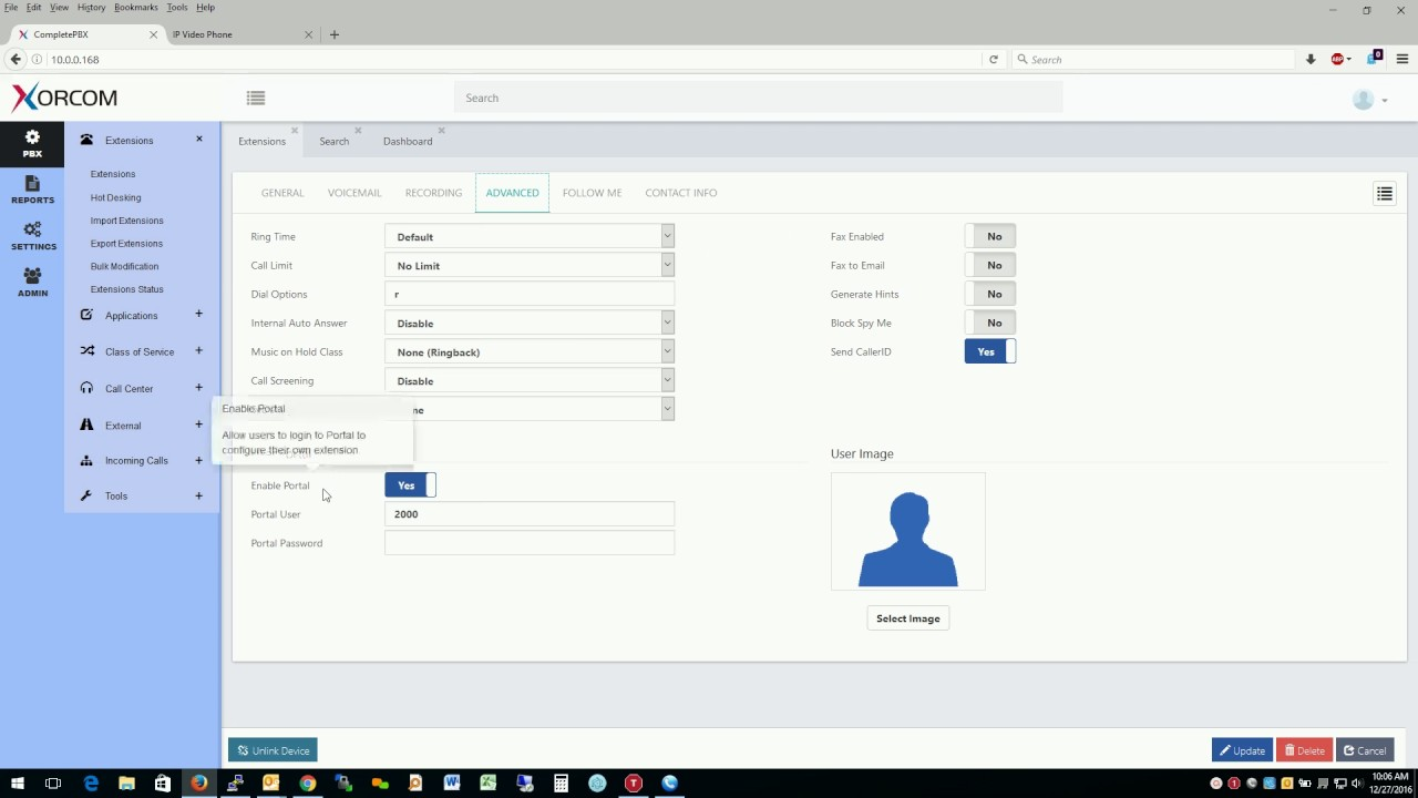 Free PBX training video - how to create extensions in virtual PBX, training  course