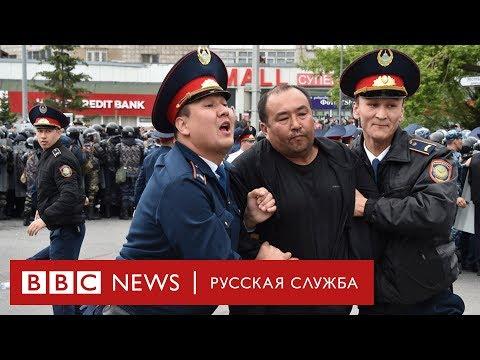 Протесты в Казахстане: