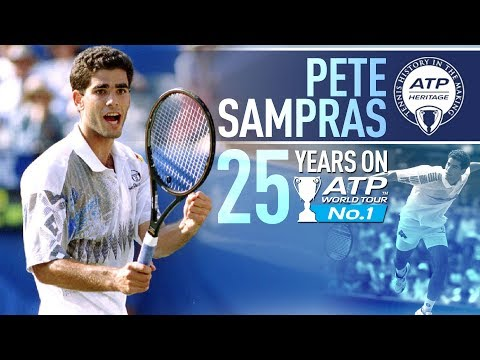 Remembering Sampras' Rise To No. 1... 25 Years On