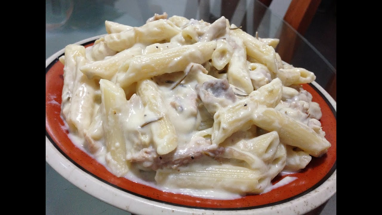 Chicken Penne Pasta with Rosemary RecipeYouTube