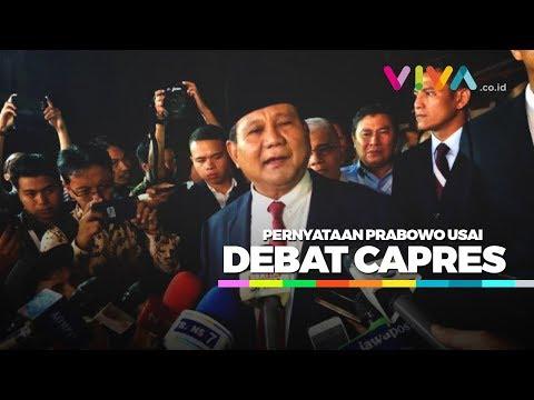 Pernyataan Prabowo Soal Jokowi Usai Debat Capres Mp3