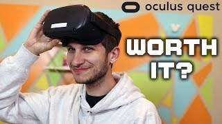 Oculus Quest VR Is FINALLY Worth Your Money! (Oculus Quest Review 2019)