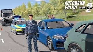 Autobahn Police Simulator 2 - Stone Thrower! Gameplay 4K