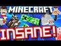 Minecraft INSANE GRAVITY ! Crazy Effects !