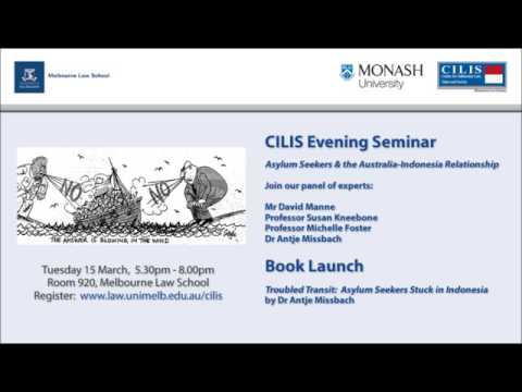 CILIS Evening Seminar: Asylum Seekers and the Australia-Indo