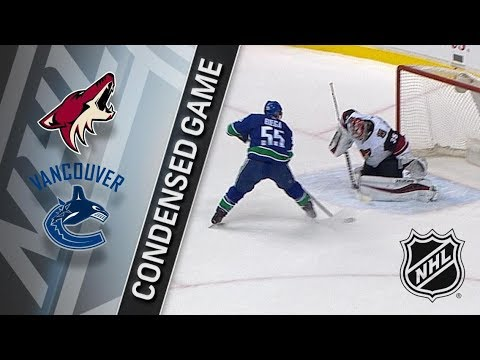 Arizona Coyotes vs Vancouver Canucks – Apr. 05, 2018 | Game Highlights | NHL 2017/18. Обзор