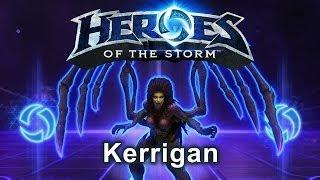 Heroes of the Storm - Kerrigan (Gameplay)