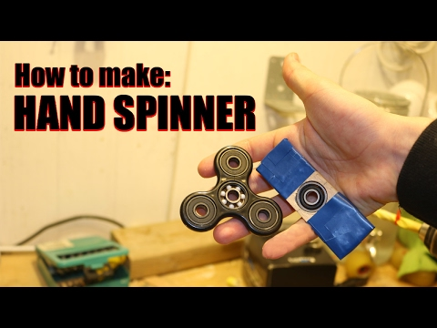 How To Make a FIDGET SPINNER for free
