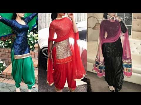 Punjabi salwar suit designs।Punjabi dresses designs for girls।Patiala salawar suit designs