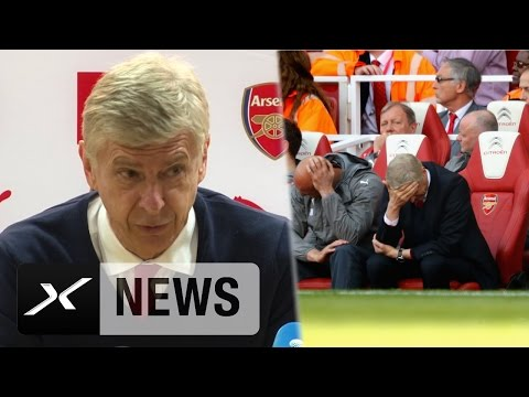 "Arsene Wenger zu Champions League: ""Sehr traurig"" | FC Arsenal – FC Everton 3:1"