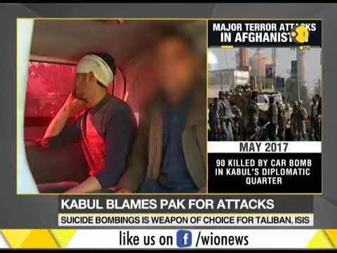 Kabul blames Pakistan for attacks