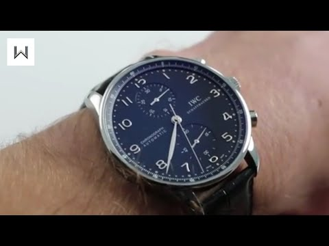 IWC Portuguese Chronograph IW371447 Luxury Watch Review