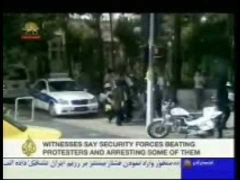 Interview Aljazeera with PMOI supporter inside Iran
