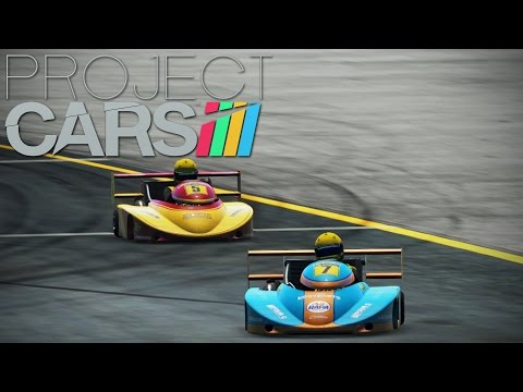 Project Cars - MP Episode 3 - 250cc Karts!
