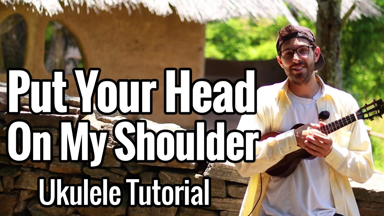 Put Your Head On My Shoulder (Ukulele Tutorial) Easy - Paul Anka