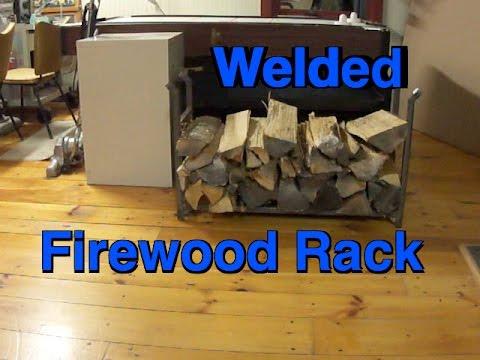 Beginner Welding Project: Build a Firewood Rack