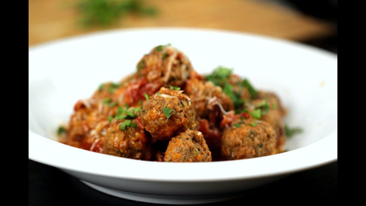 Włoskie Pulpeciki W Sosie Pomidorowym