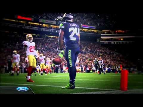 Kurt Russell Seattle Seahawks introduction Super Bowl XLVIII 2014 - Metallica HD Stereo Better Cut
