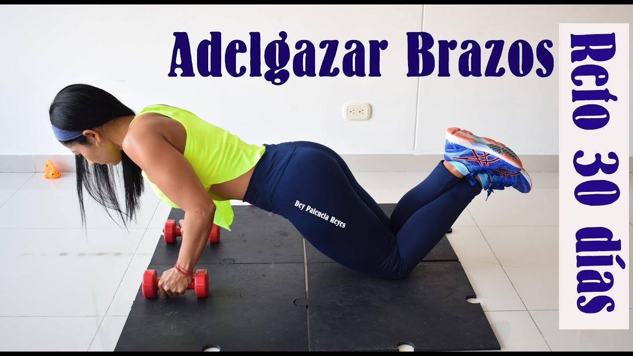 Plank ejercicio para adelgazar los brazos